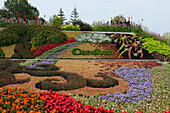 Plant design at the entrance to Candiac, Province of Quebec, Canada