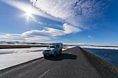 Nice weather on the east coast of Iceland