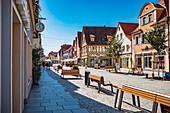 Main street in Forchheim, Bavaria, Germany