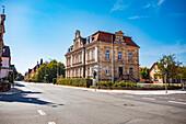 Nürnbergerstrasse in Forchheim, Bavaria, Germany