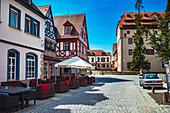 Sattlertorstrasse in Forchheim, Bavaria, Germany