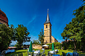 St. Matthäus Kirche in Wiesenthau bei Forchheim, Bayern, Deutschland