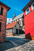Kirchwehr in Kulmbach, Bavaria, Germany