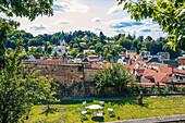 Blick vom Röthleinsberg in Kulmbach, Bayern, Deutschland