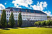 Friedenstein Castle in Gotha, Thuringia, Germany