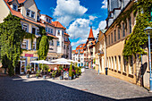 Brühl in Gotha, Thuringia, Germany