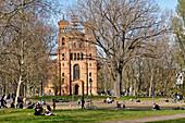 St. Thomas Church, Park on Mariannenplatz, Berlin-Kreuzberg