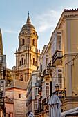 Malaga Cathedral, Costa del Sol, Malaga Province, Andalusia, Spain, Europe
