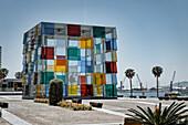 Center Pompidou, Malaga, Costa del Sol, Andalusia, Spain