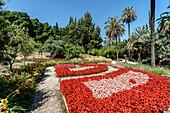 Botanical Garden of Malaga, Jardín Botánico-Histórico La Concepción Costa del Sol, Malaga Province, Andalusia, Spain, Europe