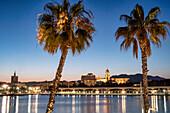 Malaga, Costa del Sol, Malaga Province, Andalusia, Spain, Europe