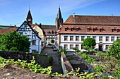 In Wissembourg, Alsace, France