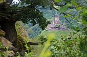 Reichsburg of Cochem on the Moselle, Rhineland-Palatinate, Germany