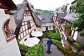Beilstein on the Moselle, Rhineland-Palatinate, Germany