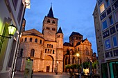 At the Dom, Trier on the Moselle, Rhineland-Palatinate, Germany