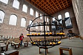 In the Konstantin Basilica, Trier on the Moselle, Rhineland-Palatinate, Germany