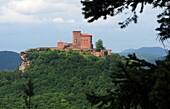 Trifels Castle, Palatinate Forest, Rhineland-Palatinate, Germany