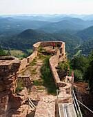 Wegelnburg near Schönau in the southern Palatinate Forest, Rhineland-Palatinate, Germany