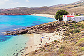 Kalafati Beach, Mykonos, Cyclades Islands, Greece