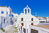 Chora, Amorgos, Cyclades Islands, Greece