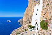 Chozoviotissa monastery, Amorgos, Cyclades Islands, Greece\n