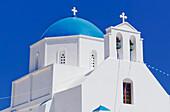 Greek Orthodox church, Amorgos, Cyclades Islands, Greece, Europe