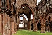 Sweetheart Abbey, New Abbey, Dumfries, Schottland UK