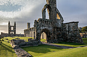 St. Andrews Cathedral ruin, ruined monastery, Fife, Scotland, UK