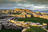 Broch of Gurness, Aikerness, ruined tower and Iron Age settlement, Mainland Orkney, Scotland UK