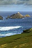 Muckle Flugga Lighthouse, Hermaness Nature Reserve, Unst, Shetland, Scotland UK