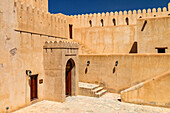 The fort of Nizwa protected the rich trading city in Oman from raids