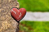 A red heart is a powerful symbol of love and affection