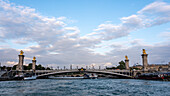 Pont Alexandre III, bridge over the Seine, Paris