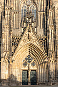West portal of Magdeburg Cathedral, Magdeburg, Saxony-Anhalt, Germany