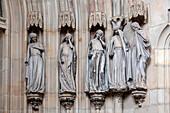 Five foolish virgins, Magdeburg Cathedral, Saxony-Anhalt, Germany