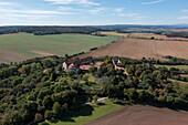 Konradsburg, belongs to the Romanesque Road, Ermsleben, Harz, Saxony-Anhalt, Germany