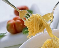 Twirling Spaghetti on a Fork