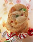 Candy cookies for Christmas