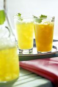 Energy Drinks with Mint; Ginger