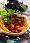 Maccheroni al forno (aubergine and macaroni bake)
