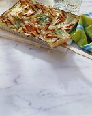Quiche with fennel and Schillerlocken
