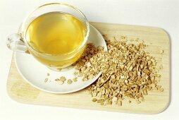 Sweet flag root tea (Acorus calamus)