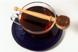 Rooibos tea (Aspalathus linearis)