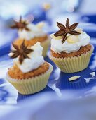 Pear and anise muffins with star anise