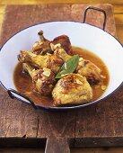 Spanish garlic chicken (pollo al ajillo)