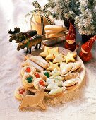 Assorted Christmas biscuits from Finland