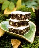 Sweet chestnut slices
