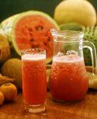 Jugo de sandia (watermelon juice, Colombia)