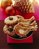 Plum gingerbread and ginger cookies