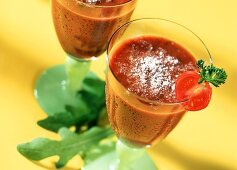 Little Italy: tomato drink with grated parmesan